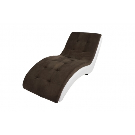 Heaven Chaise  Lounge Brown