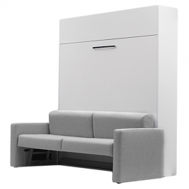 ALADINO European Queen Size Wall bed with sofa