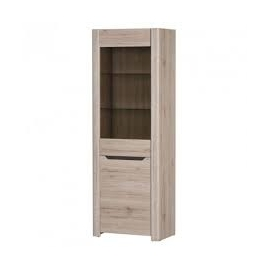DESJO 1 Door Display Cabinet