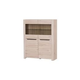 DESJO 2 Small Door Display Cabinet