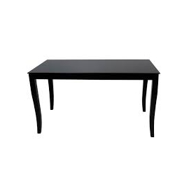 FINEZJA Glass Top Dining Table With Extension