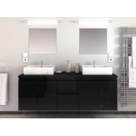 ICEBERG BLACK Bathroom set
