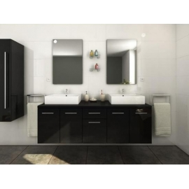VIENNA BLACK Bathroom set